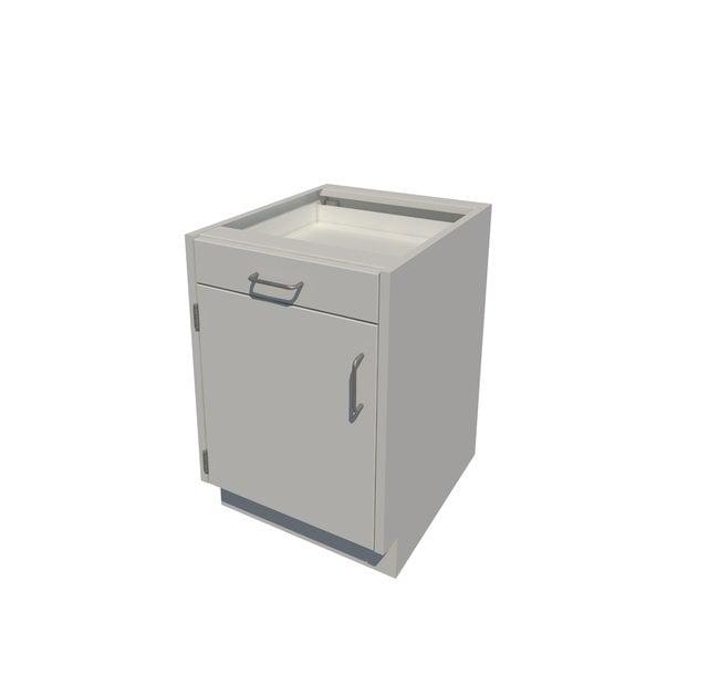 FisherbrandSitting Height Steel Cabinet 1 Door 1 Drawer, 18 in. Wide:Furniture