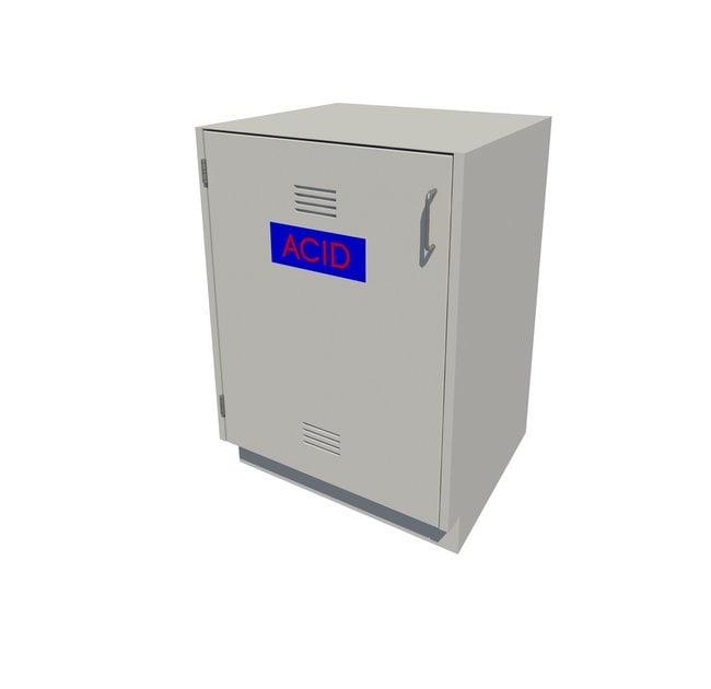 Fisherbrand Acid Storage Standing Height Steel Cabinet 1 Door, Left Hinged,