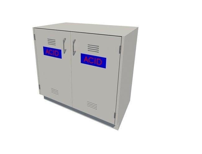 FisherbrandAcid Storage Standing Height Steel Cabinet 2 Door, 36 in. Wide:Furniture