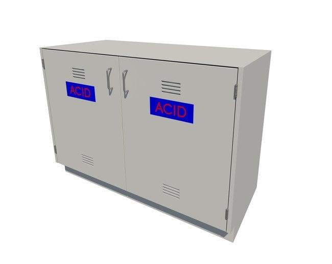 Fisherbrand Acid Storage Standing Height Steel Cabinet 2 Door, 48 in. Wide:Furniture,