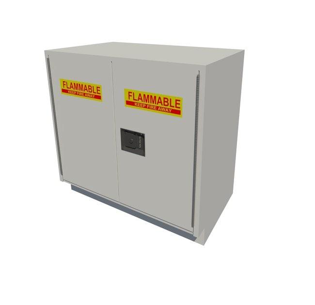 Fisherbrand Solvent Storage Standing Height Steel Cabinet 2 Door, 36 in.
