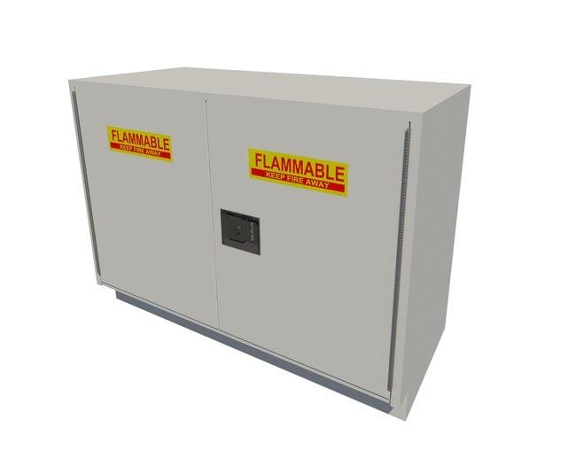Fisherbrand Solvent Storage Standing Height Steel Cabinet 2 Door, 48 in.