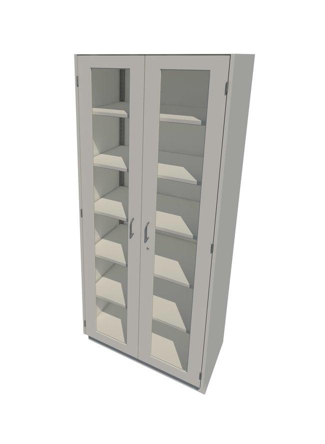 FisherbrandSteel Tall Cabinets 2 Framed Glass Doors, 36 in. Wide:Furniture
