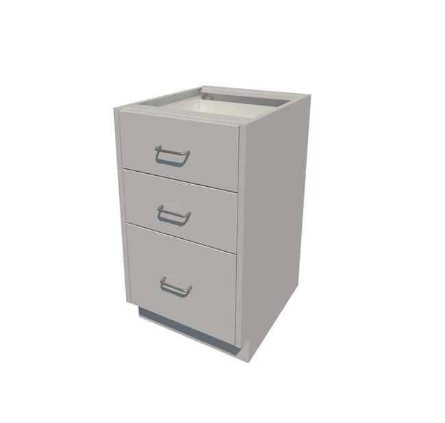 Fisherbrand ADA Height Steel Cabinet with 3 Drawers 3 Drawer, 18 in. Wide:Furniture,