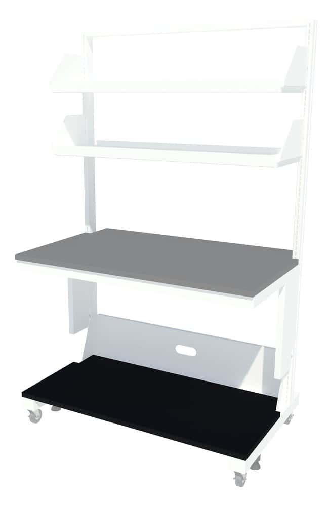 Fisherbrand Mobile Lab Workstation Lower Shelf For use with 48 in. wide