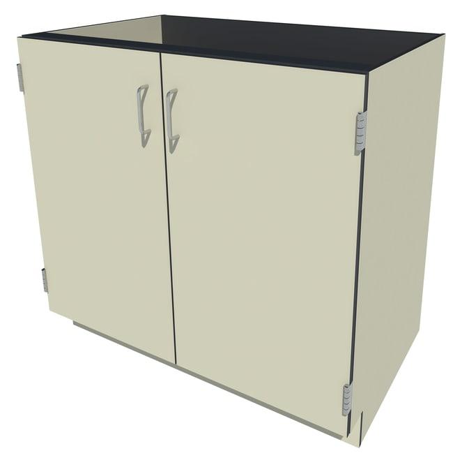 Fisherbrand Phenolic Standing Height Cabinet 2 Door, 36 in. Wide, Beige:Furniture,