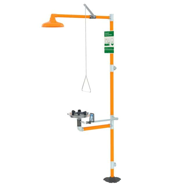 Fisherbrand Free Standing Eyewash and Shower Station ADA Compliant