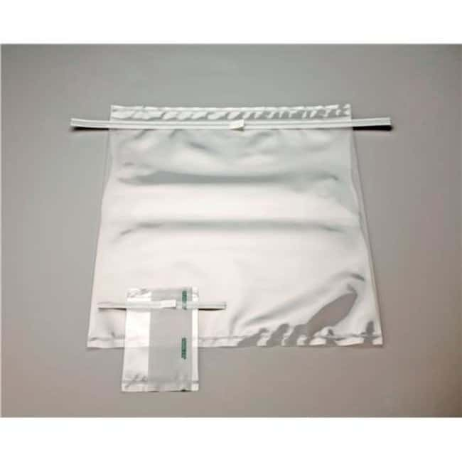 Labplas Twirl'EM™ Large Format Sampling Bags with Tear-Off Protection Strip
