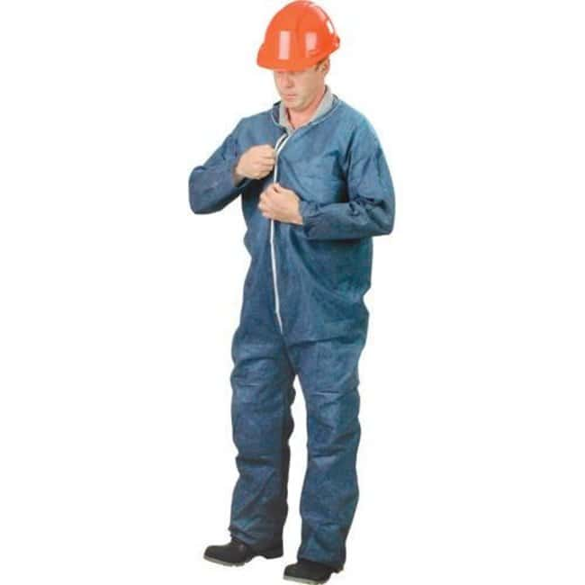 Lakeland Industries Polypropylene Coveralls With Zipper Navy blue; 3X-Large:Gloves,
