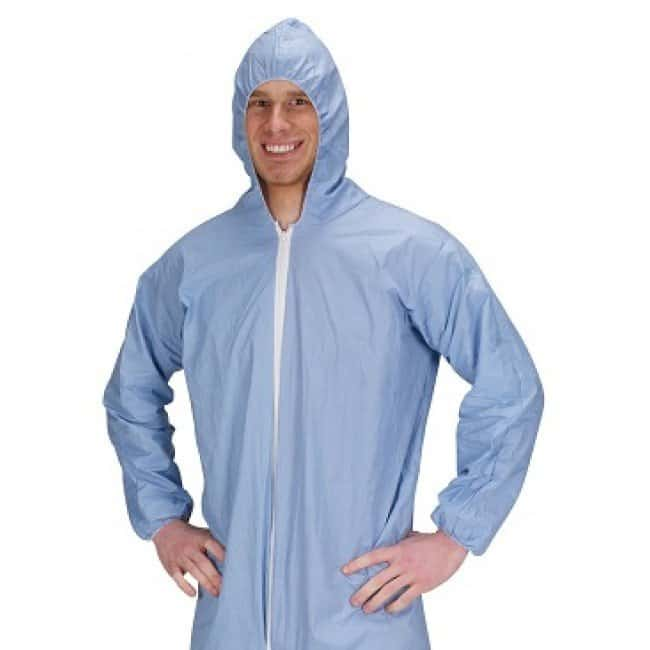 Lakeland Industries Pyrolon Plus 2 Coveralls Blue; Small:Gloves, Glasses