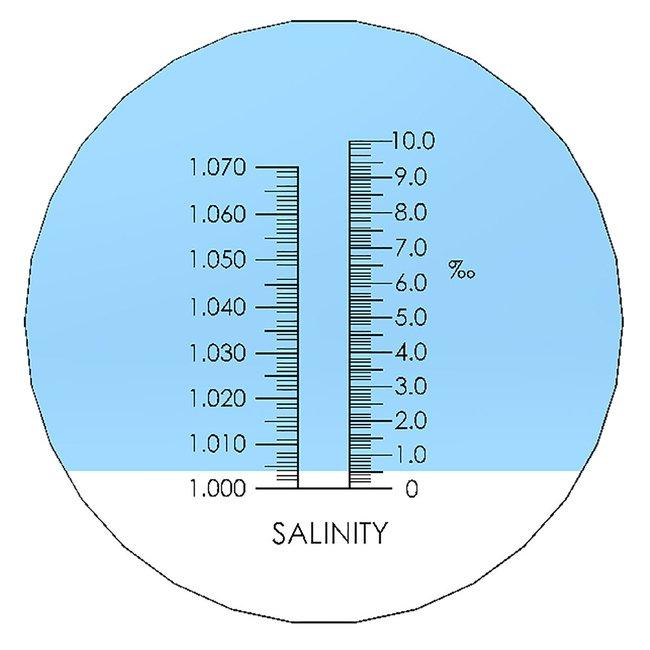 Laxco™Handheld Analog Salinity Refractometer