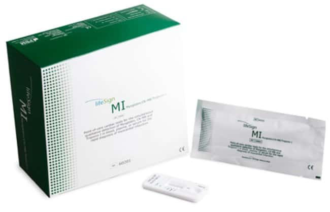 LifeSign Lifesign MI Cardiac Markers Test Kit:Diagnostic Tests and Clinical