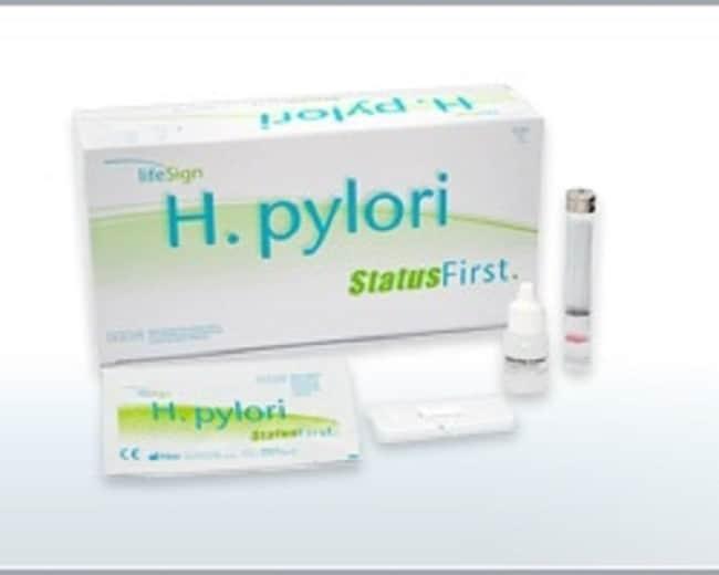 LifeSignStatus H. Pylori Test Kit Status H. Pylori Test Kit:Microbial Identification