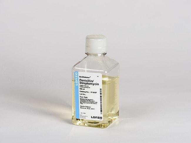 LonzaBioWhittaker Antibiotics: Penicillin-Streptomycin Mixtures Penicillin-Streptomycin