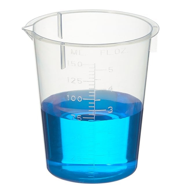 Fisherbrand  Polypropylene Disposable Beakers