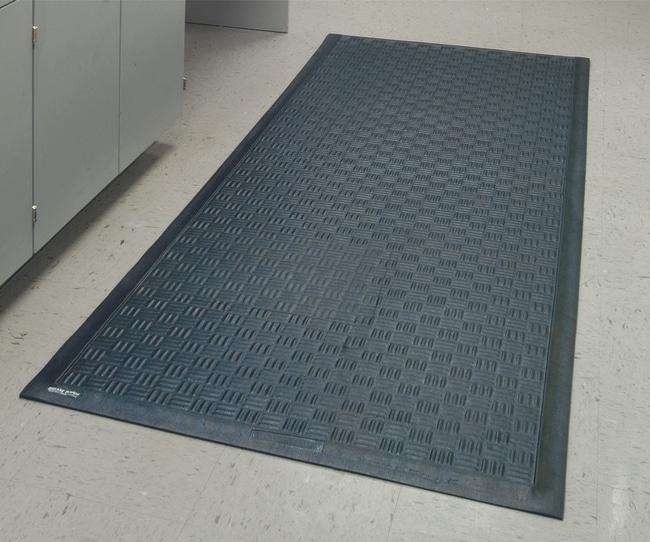 M+A MattingCushion Station Anti-Fatigue Mats:Facility Safety and Maintenance:Floor