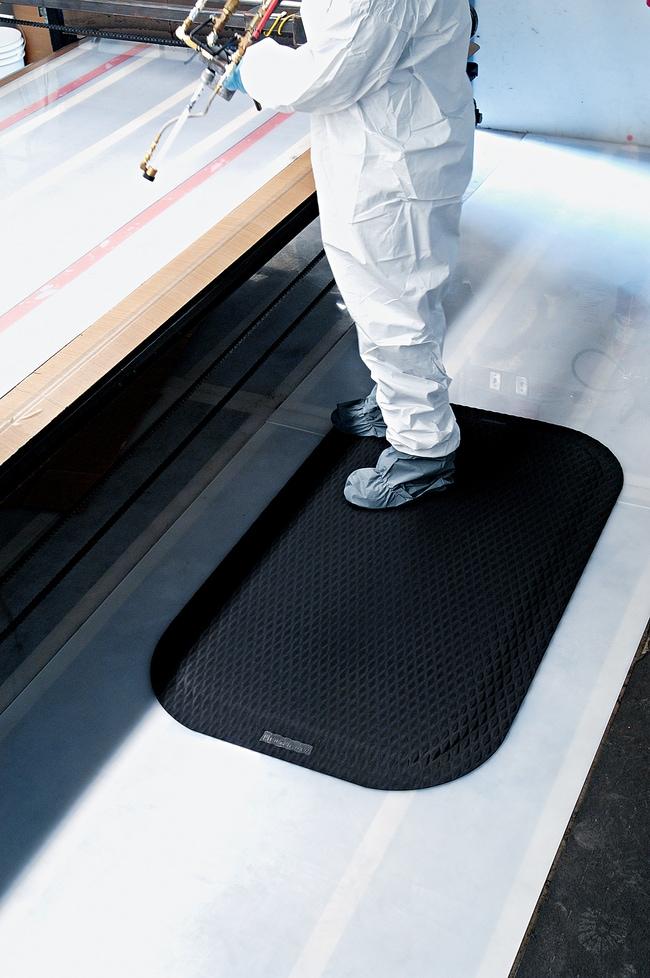 M+A MattingHog Heaven Anti-Fatigue Mat:Facility Safety and Maintenance:Floor