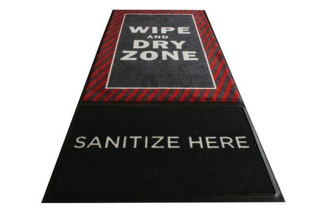 M+A MattingStepWell Shoe Sanitizing Mat:Facility Safety and Maintenance:Floor