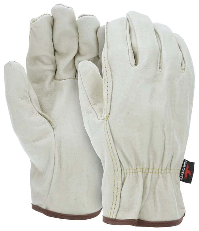MCR Safety Company Pigskin Driver Gloves:Gloves, Glasses and Safety:Gloves
