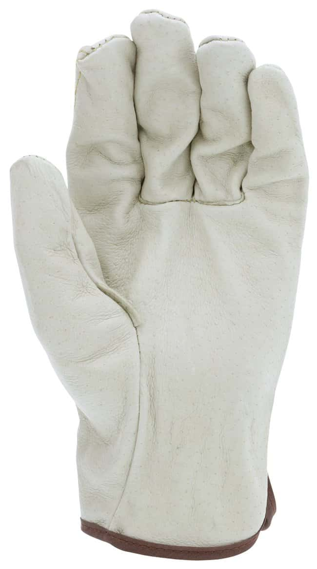 MCR SafetyPremium Grade Unlined Grain Pigskin Leather Drivers Gloves Medium:Personal