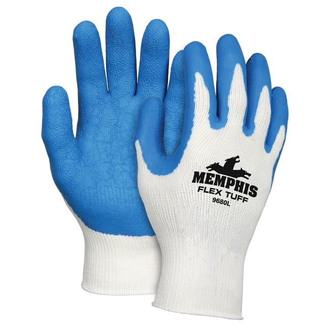 MCR Safety Memphis Flextuff Latex Dipped Glove Thumb type: straight; Small:Gloves,