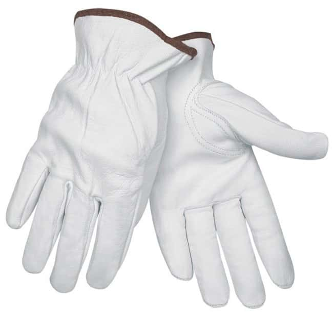 MCR Safety Memphis Leather Drivers Gloves Thumb type: key stone; X-Large:Gloves,