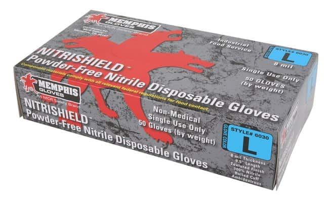 MCR Safety NitriShield Nitrile Disposable Gloves::