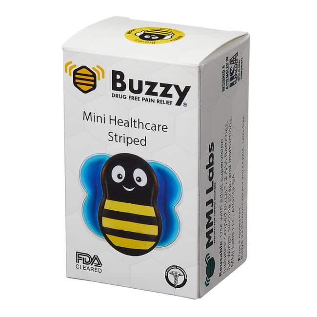 Pain Care Labs Buzzy Mini Healthcare Color: Yellow and Black Striped:Gloves,