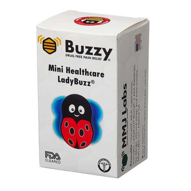 Pain Care Labs Buzzy Mini Healthcare Color: LadyBuzz™ Red:Gloves,