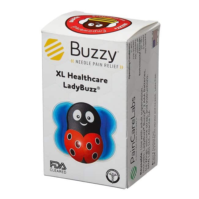 Pain Care Labs Buzzy XL Healthcare Color: LadyBuzz™ Red:Healthcare