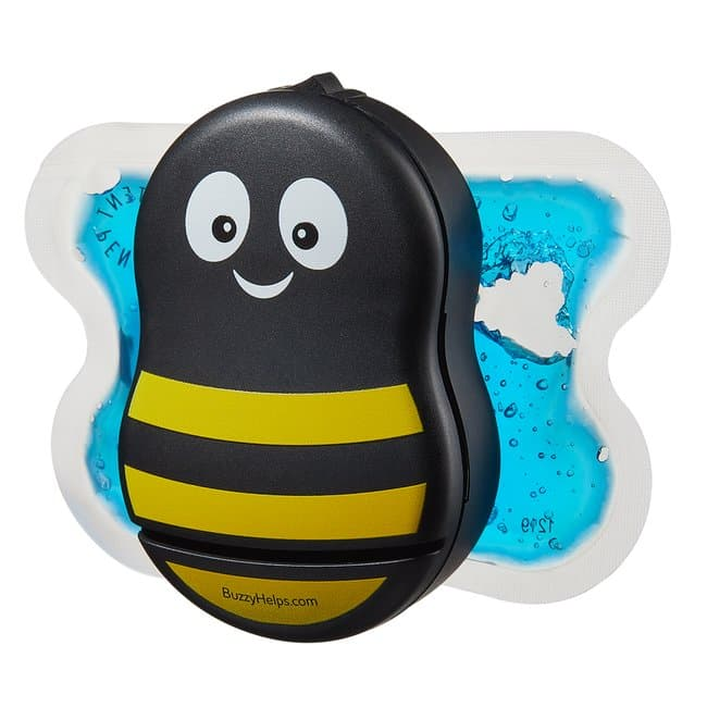 Pain Care Labs Buzzy XL Healthcare Color: Yellow and Black Striped:Healthcare