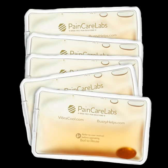 Pain Care Labs VibraCool Reusable Instant Heat Pack Quantity: 5:Gloves,
