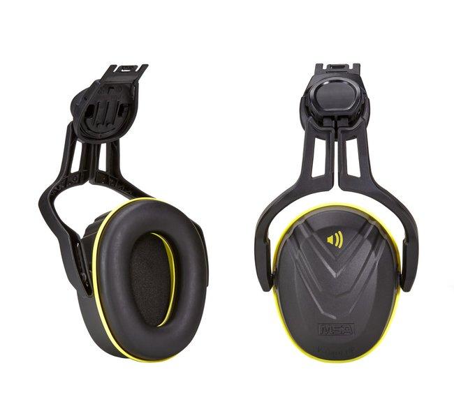 MSAV-Gard Hearing Protection Ear Muffs with Helmet Mounted Adapter, Type