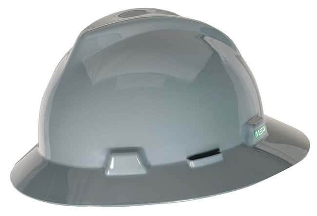 MSA V-Gard Slotted Full-Brim Hats:Gloves, Glasses and Safety:Hats and Helmets