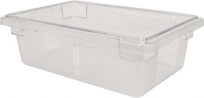MSC Rubbermaid Rectangular Food Tote Box :Gloves, Glasses and Safety:Hazardous