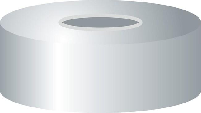 Macherey-Nagel™N 20 Magnetic Crimp Caps Septum: Butyl Light Gray/PTFE Dark Gray Macherey-Nagel™N 20 Magnetic Crimp Caps