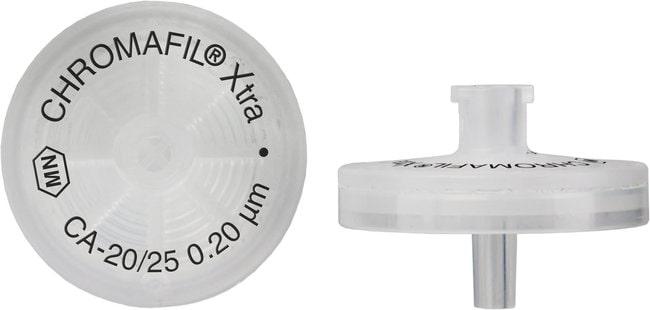 Macherey-Nagel™Chromafil™ Xtra CA Cellulose Acetate Syringe Filters Pore Size: 0.2um; Quantity: 400Pack Macherey-Nagel™Chromafil™ Xtra CA Cellulose Acetate Syringe Filters