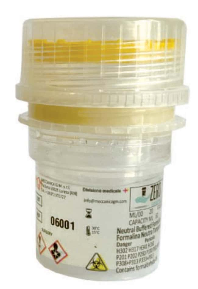 Meccanica GMPrefilled 60 mL Formalin Container