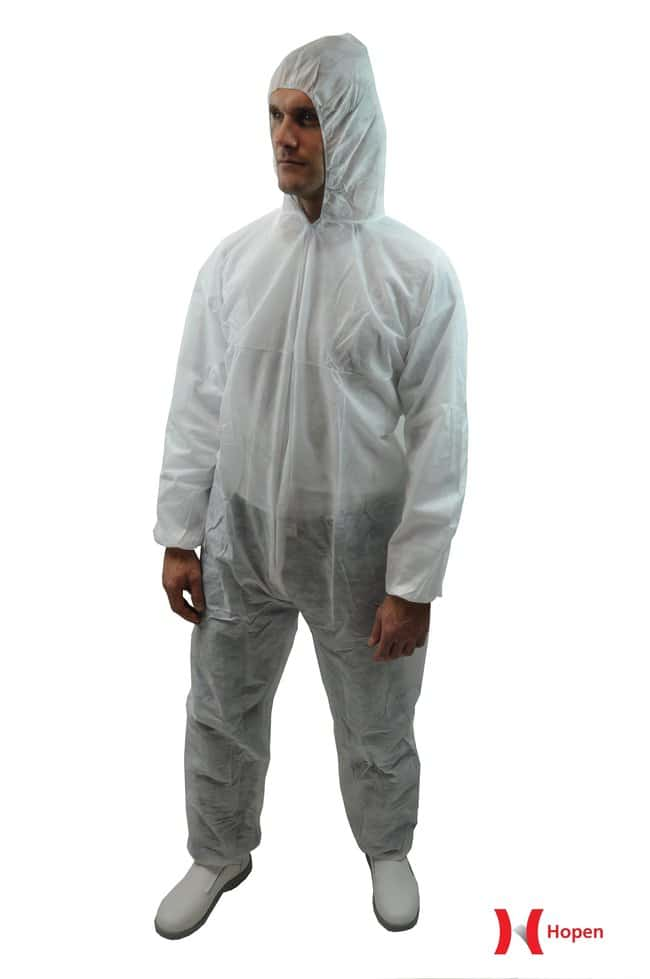 MedicomHopen Simple White Coveralls:Personal Protective Equipment:Safety