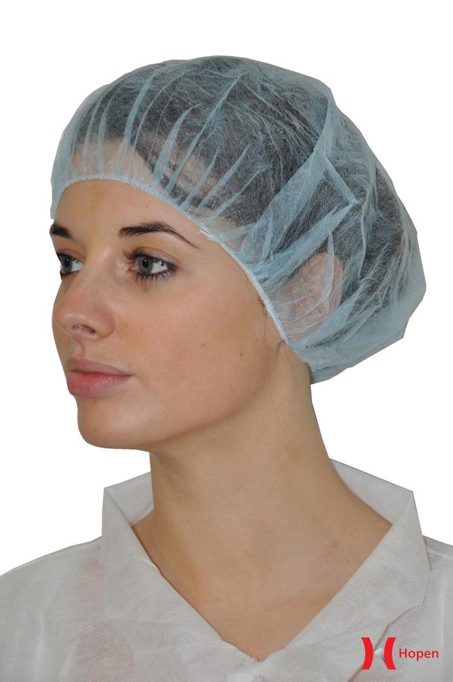MedicomHopen Classic Bouffant Cap:Personal Protective Equipment:Head Protection
