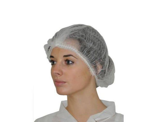 MedicomHopen Double Elastic Bouffant cap:Personal Protective Equipment:Head