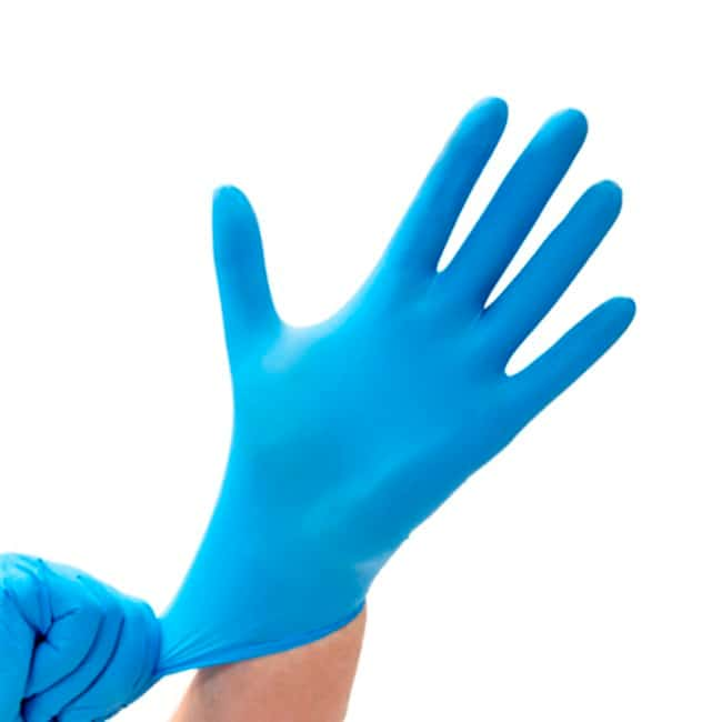 MediscaSafe-Sense Blue Nitrile Powder Free Chemo Rated Exam Gloves:Personal