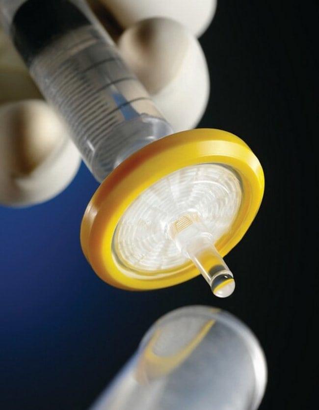 MerckMillex™-HV Sterile Syringe Filter Unit, PVDF, 0.45 μm PVDF; Modified acrylic housing; Pore size: 0.45μm; Dia.: 33mm; 250/pk. MerckMillex™-HV Sterile Syringe Filter Unit, PVDF, 0.45 μm
