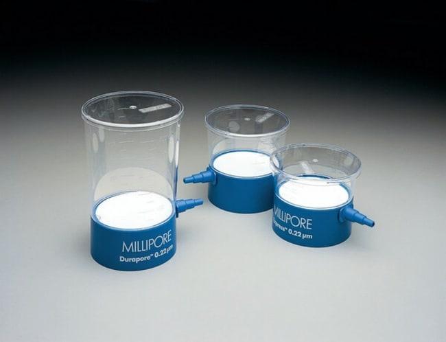 MerckSteritop™ Sterile Vacuum Bottle-Top Filters With 250mL funnel; PES membrane; Pore size: 0.22μm; For neck size 33mm MerckSteritop™ Sterile Vacuum Bottle-Top Filters