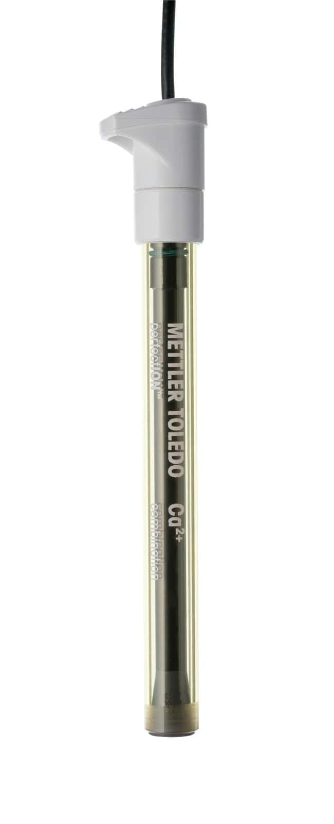 METTLER TOLEDO™Ion Selective Electrodes (ISE) Calcium Combination ISE; 0° to 40°C; BNC connector METTLER TOLEDO™Ion Selective Electrodes (ISE)