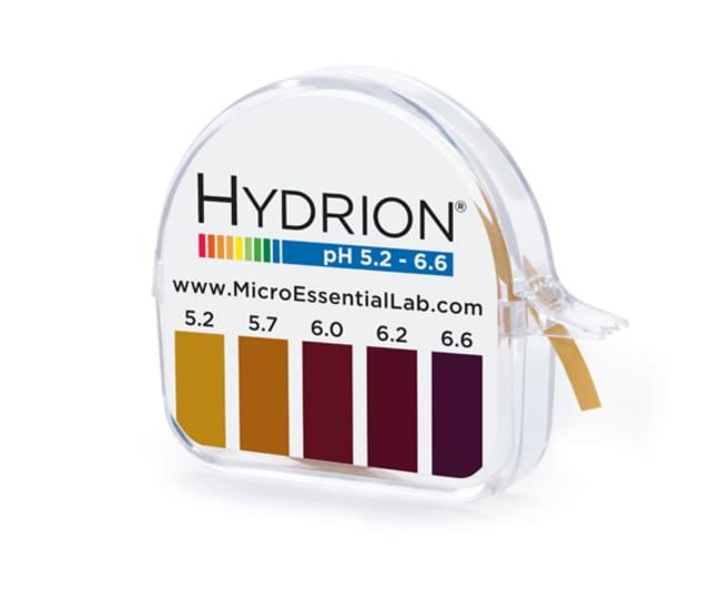 Micro Essential LabHydrion Single Roll Dispenser - pH 5.2 to 6.6 pH Range: