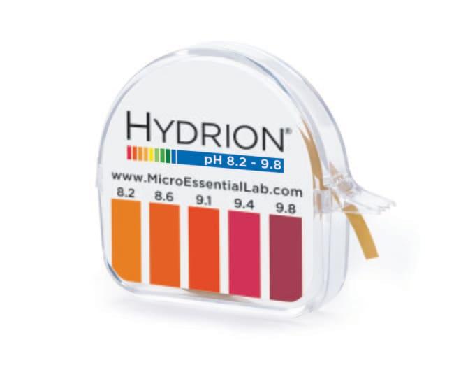 Micro Essential LabHydrion Single Roll pH Test Paper Dispensers pH-range:
