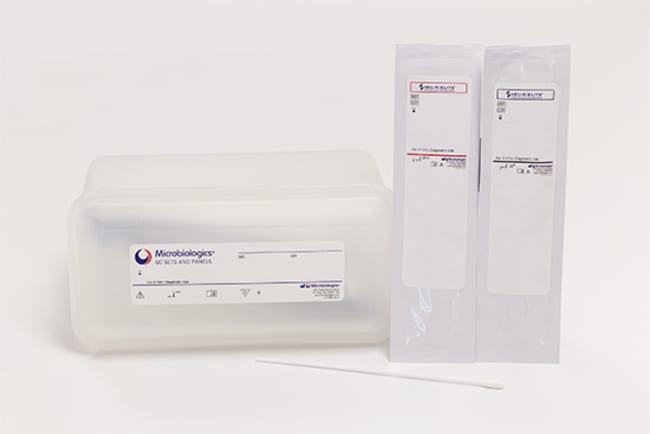 MicrobiologicsC. difficile Control Panel (Inactivated Swab) 12 swabs:Diagnostic