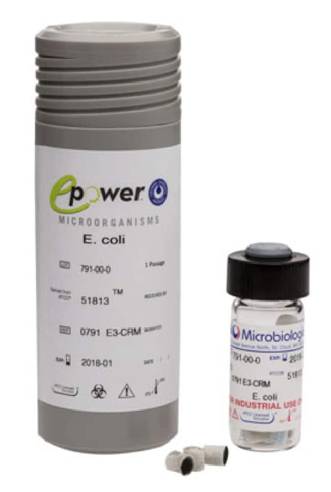 MicrobiologicsEpower Escherichia coli ATCC 51813 Epower, E3 CRM; 10/Pk.:Microbiology