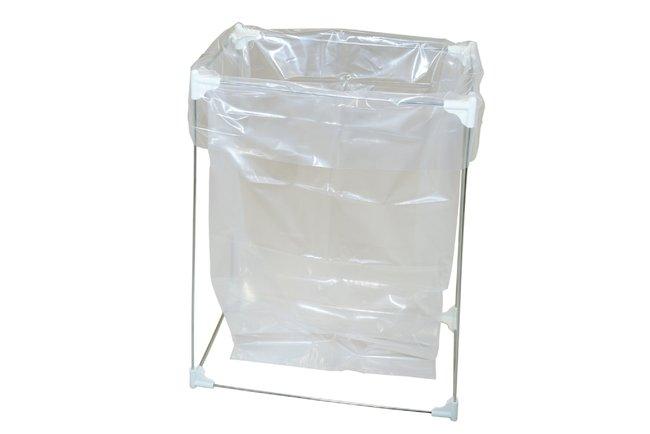 Micronova Stainless Steel Bag Stand Capacity, English: 40 gal, For Use